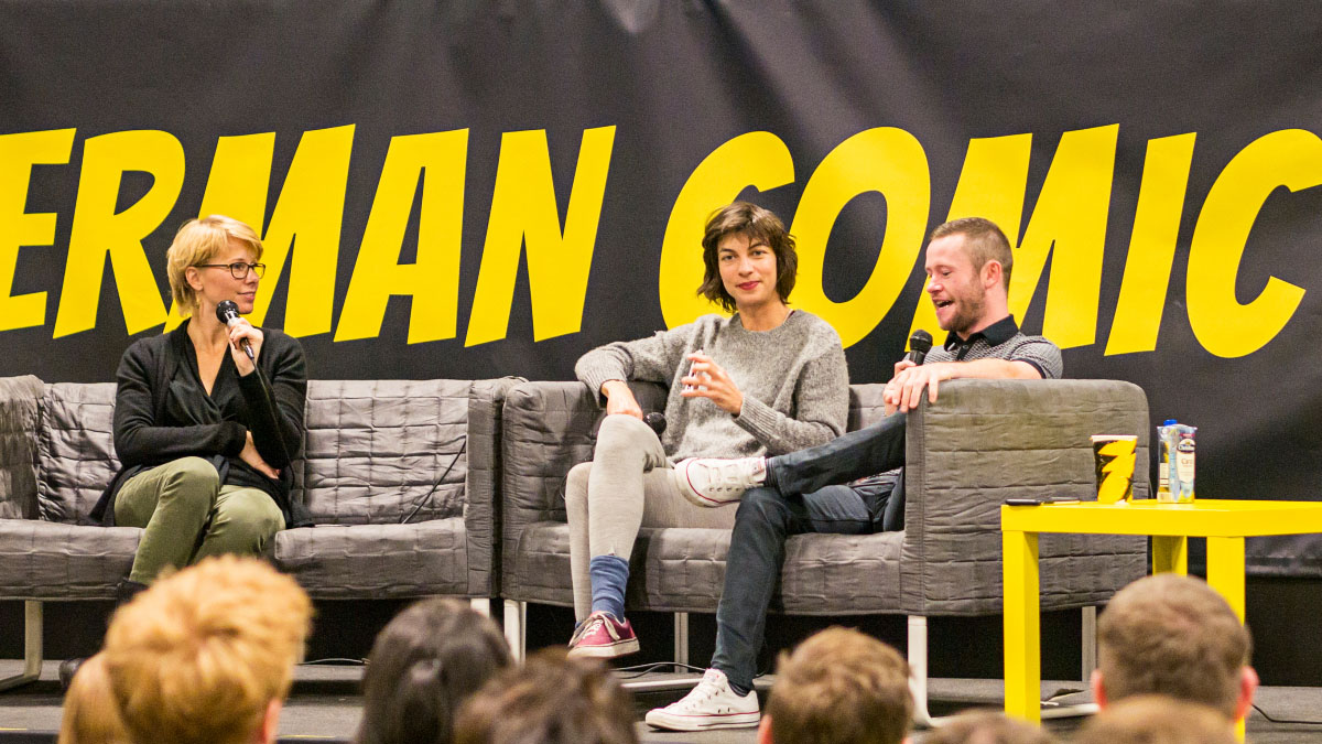 Natalia Tena & Devon Murray - Comic Con Berlin 2016