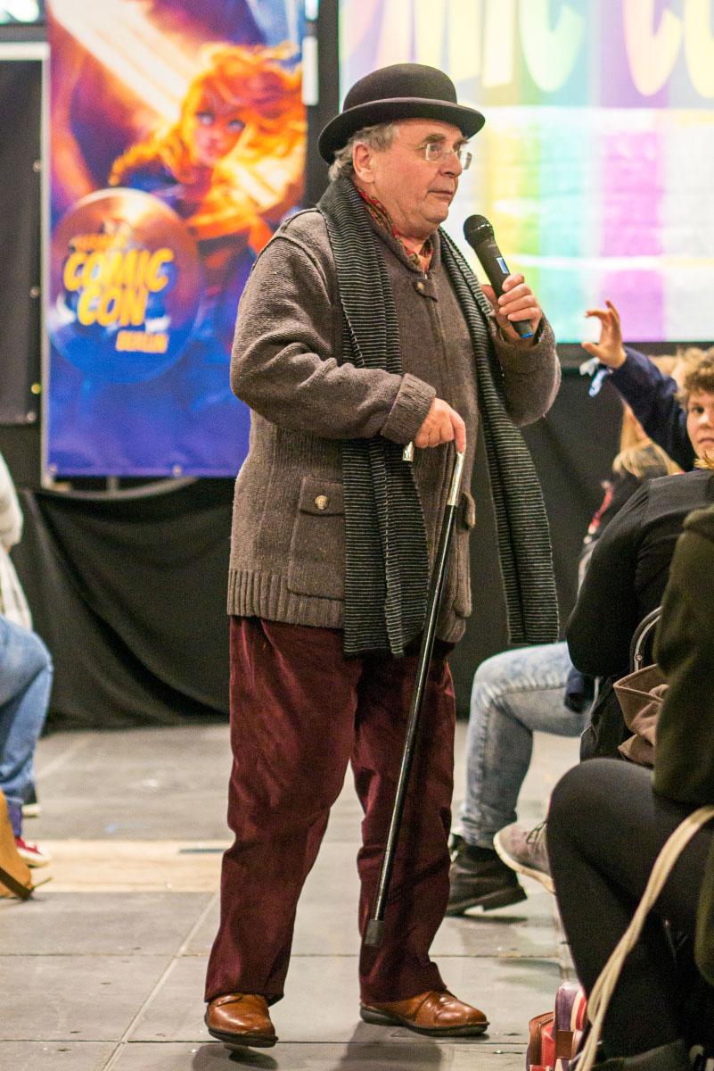 Sylvester McCoy - Comic Con Berlin 2016