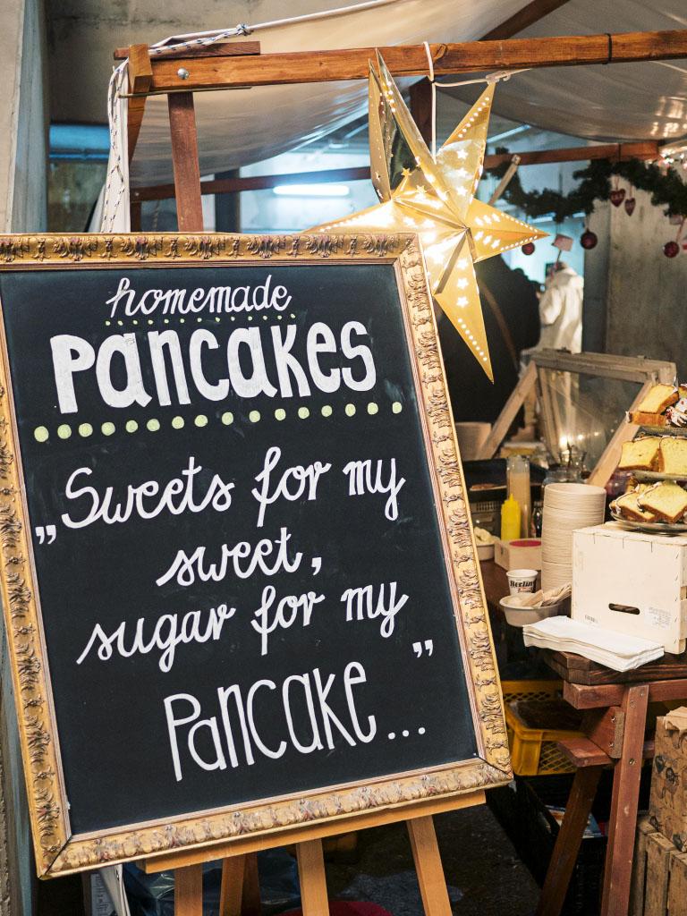 Pancakes - Holy Shit Shopping Berlin 2016