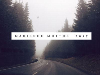 12 Magische Mottos 2017 - Logo