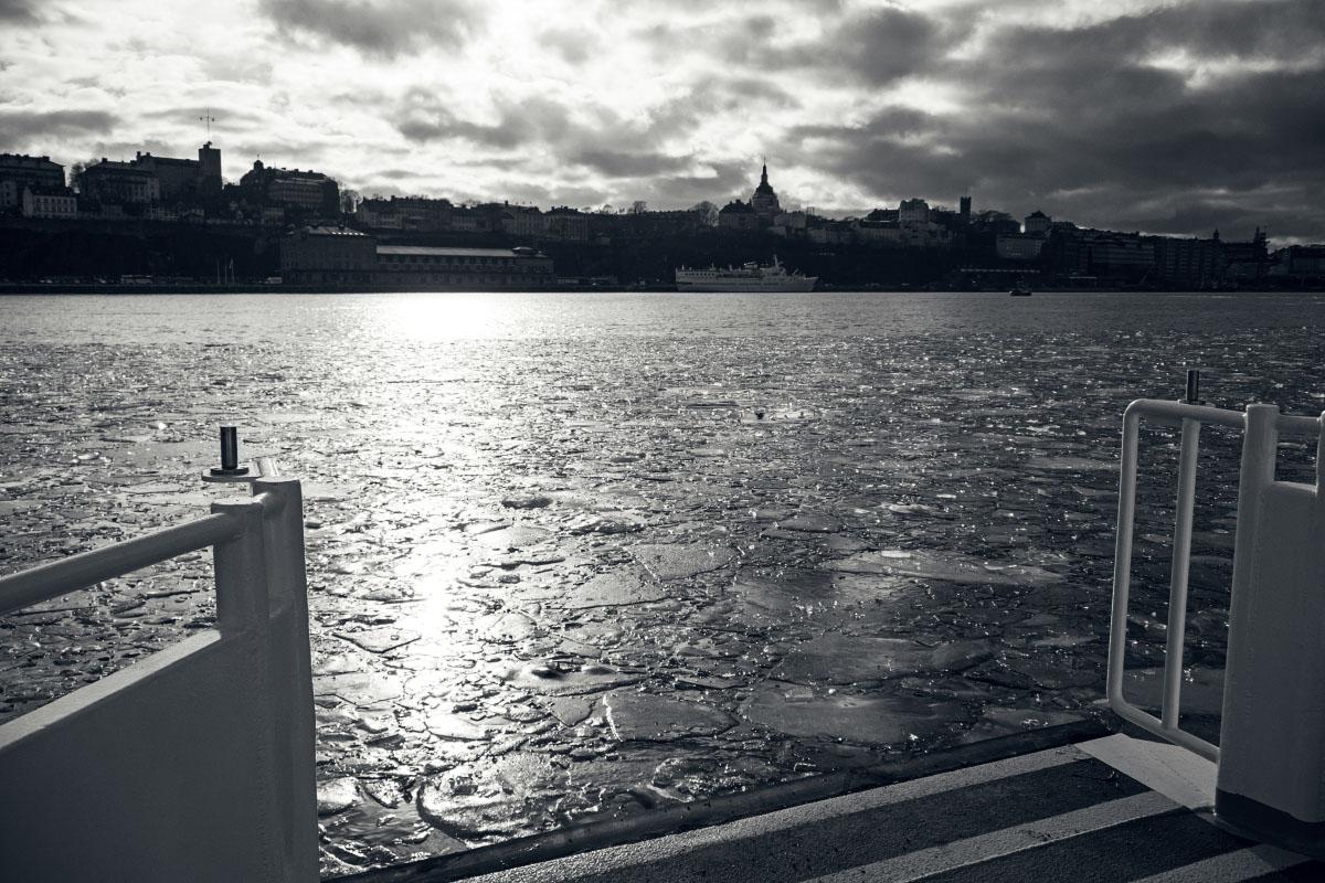 Stockholm - Eisschollen