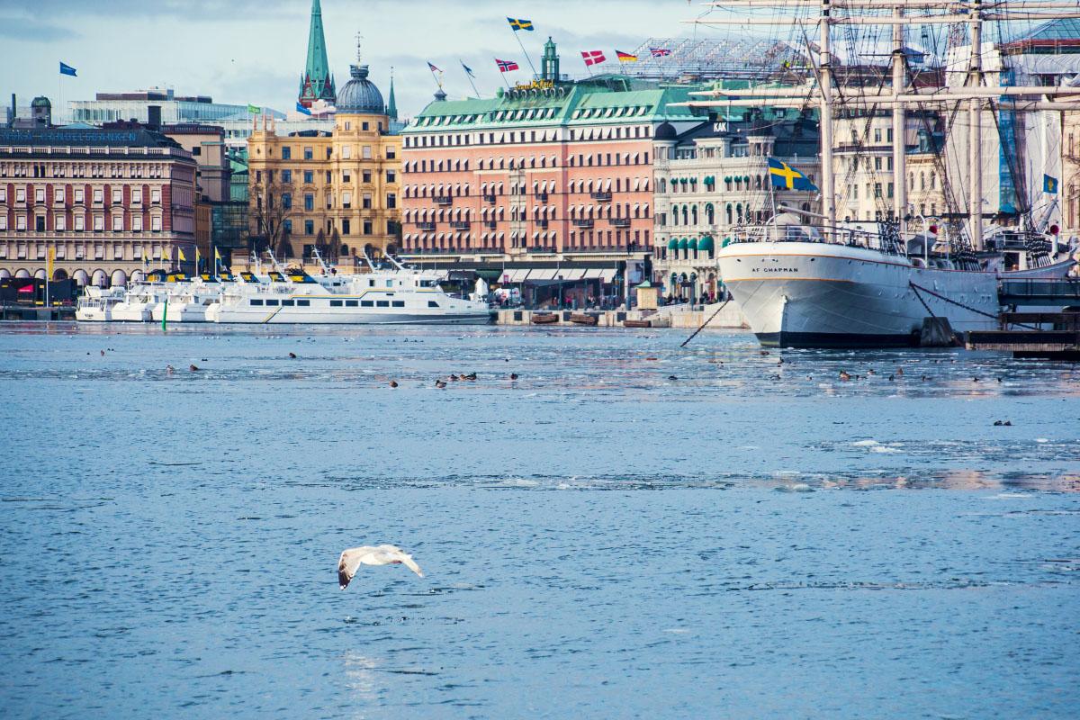 Stockholm - Hafen