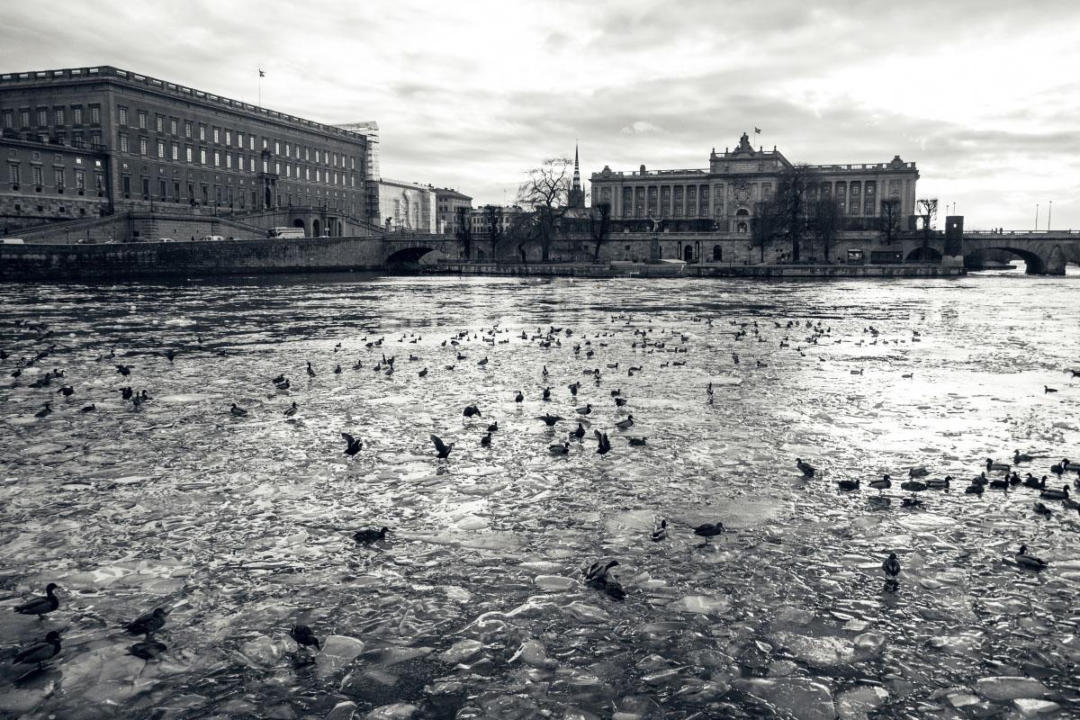 Stockholm im Winter