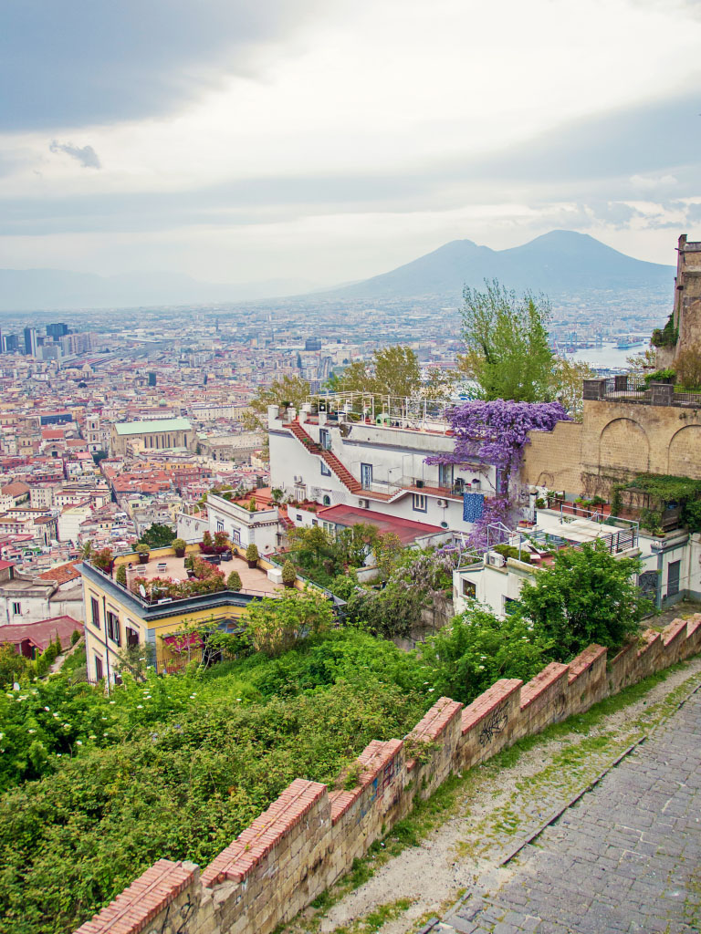 Neapel Vesuv - Größenkontrast