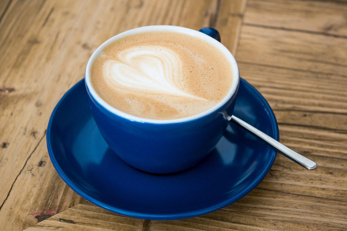 Cappuccino mit Hafermilch