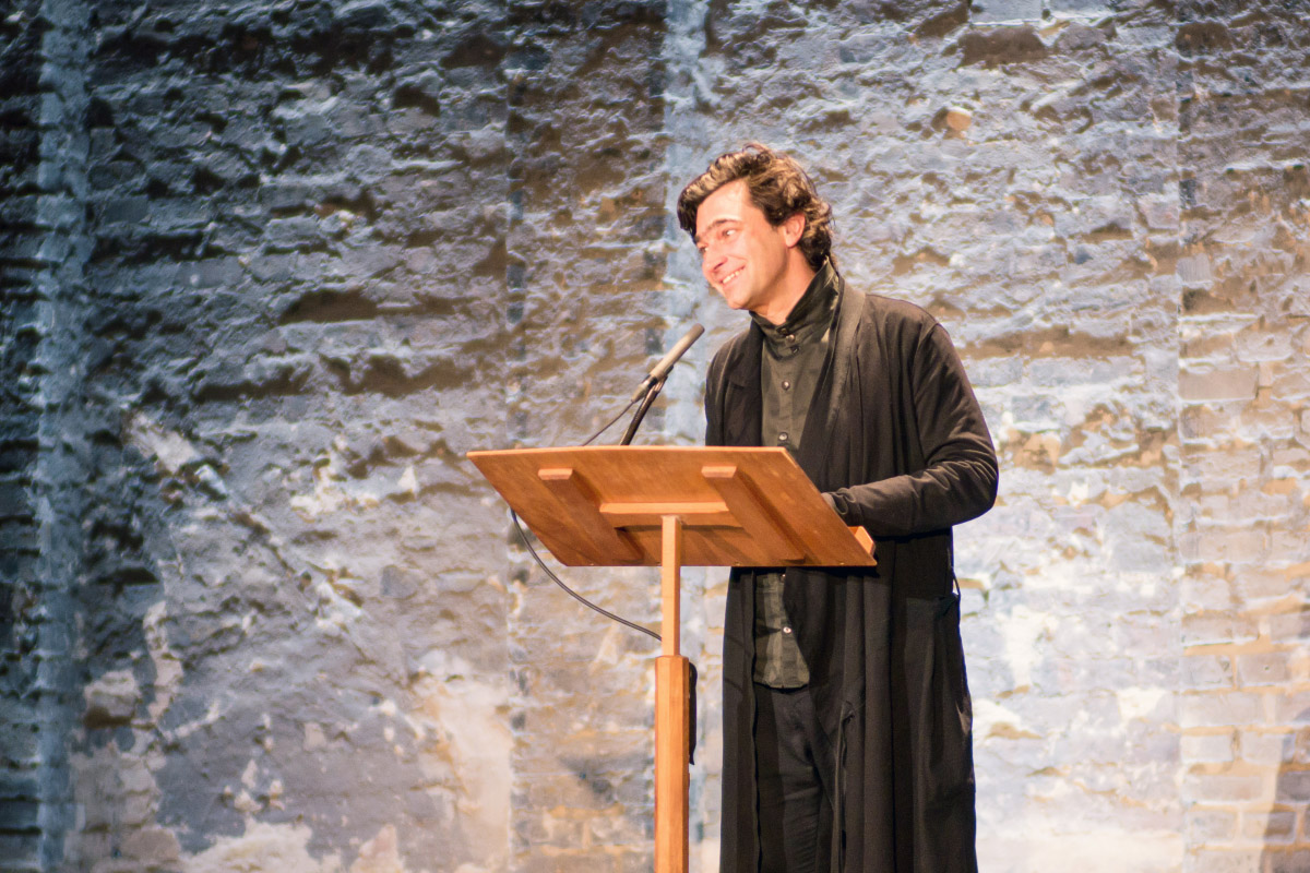 Jochen Sandig - Gala-Eröffnung im ehemaligen Stummfilmkino Delphi