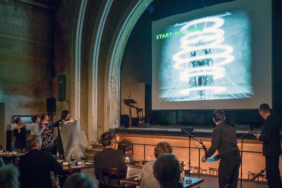Live-Stummfilmvertonung im Delphi