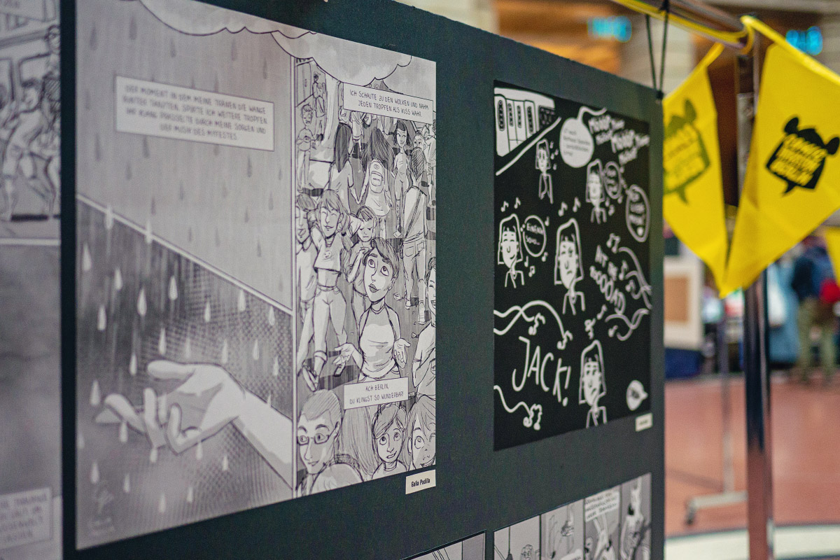 Comic-Wettbewerb - Comic Invasion Berlin 2018