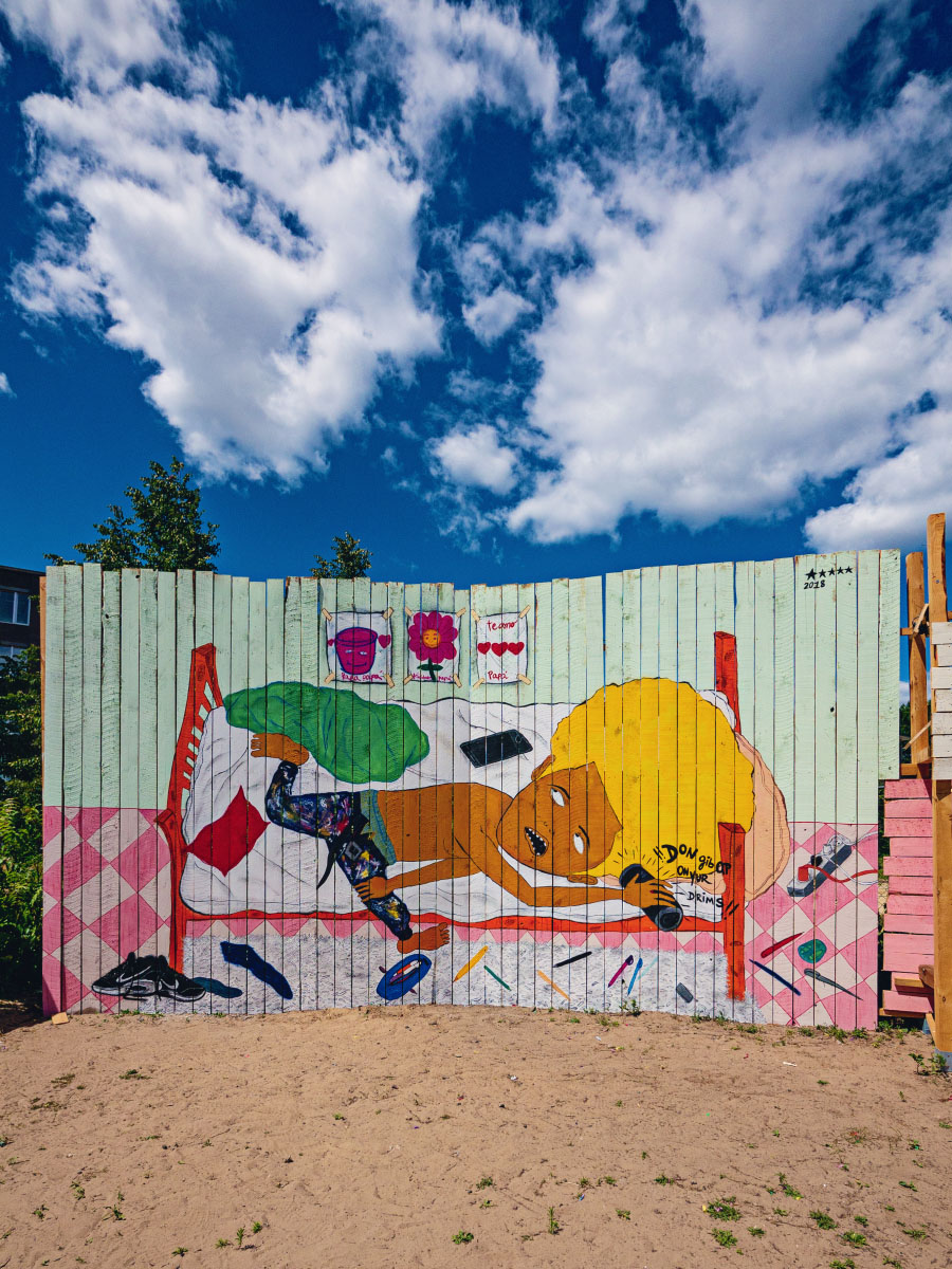 Mural - Hometown Berlin