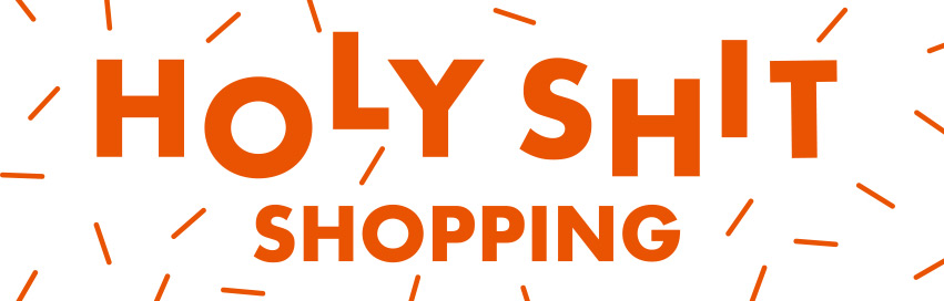 Holy Shit Shopping Logo
