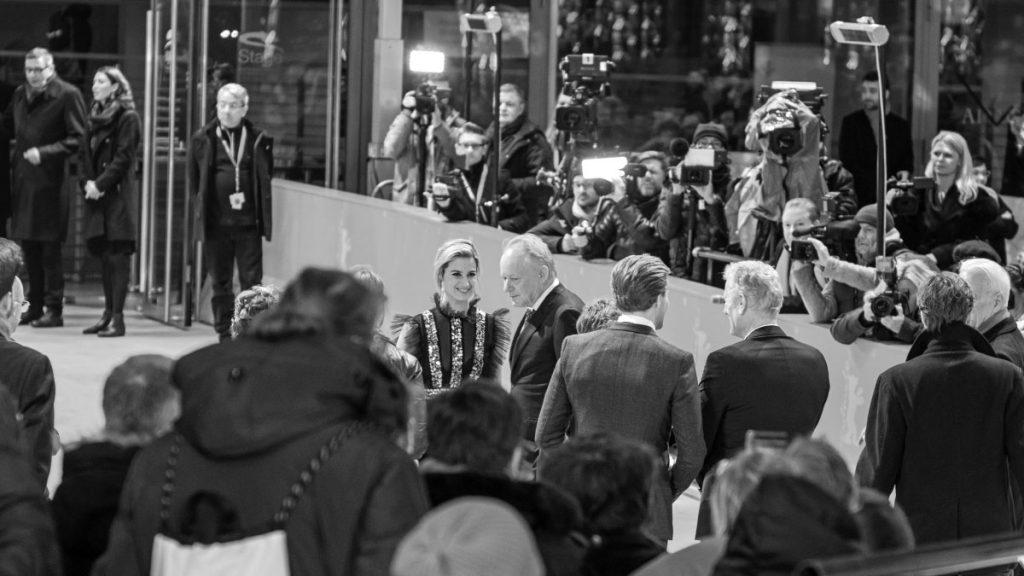 Stellan Skarsgård & Danica Curcic - Berlinale 2019