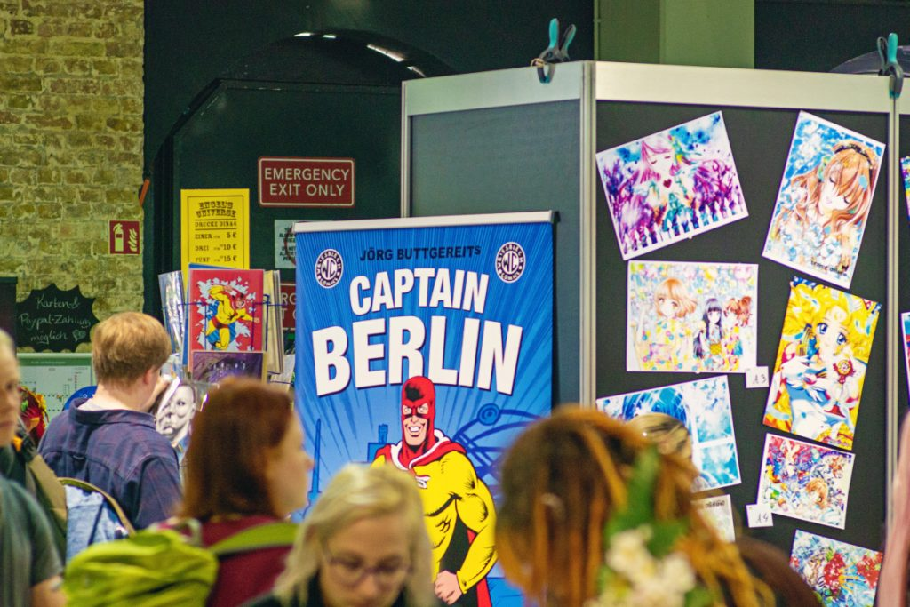 Captain Berlin - Comic Con Berlin 2019