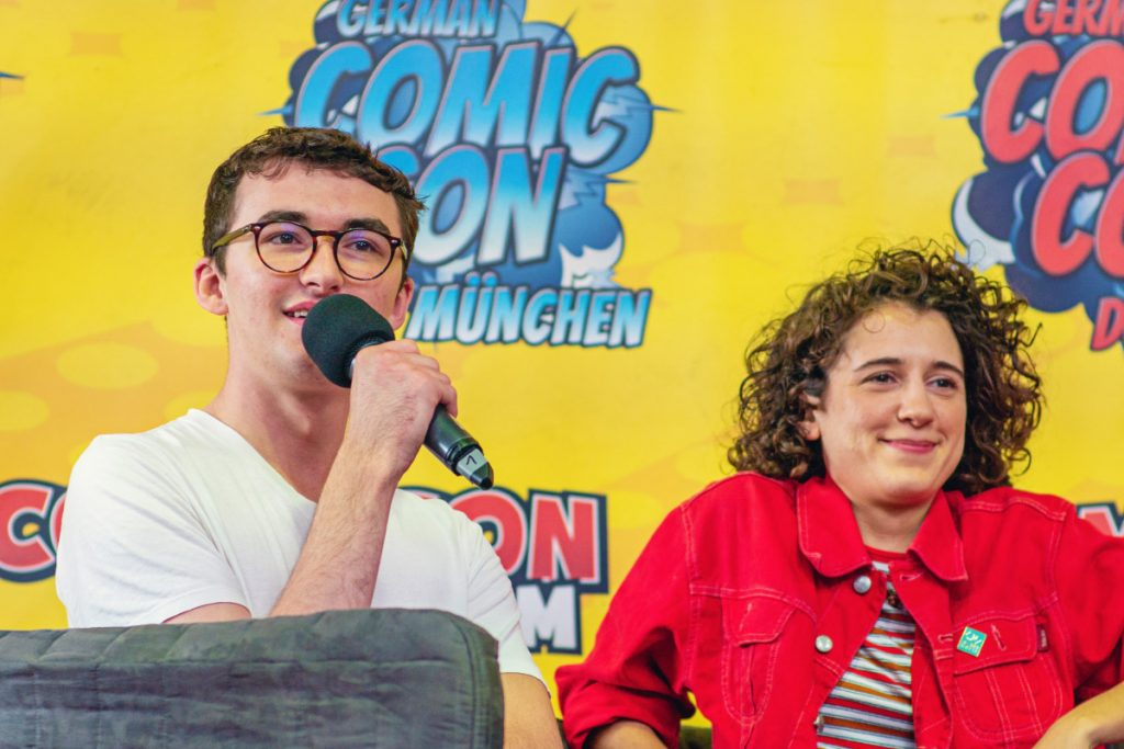 Isaac Hempstead-Wright & Ellie Kendrick - Comic Con Berlin 2019