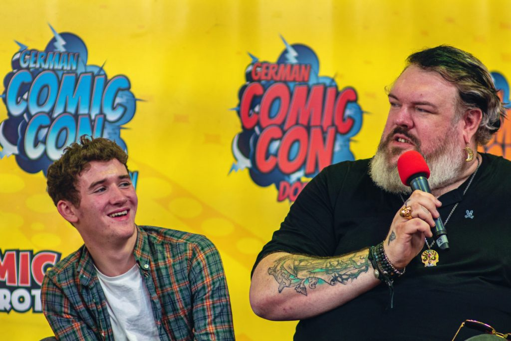Kristian Nairn & Art Parkinson - Comic Con Berlin 2019