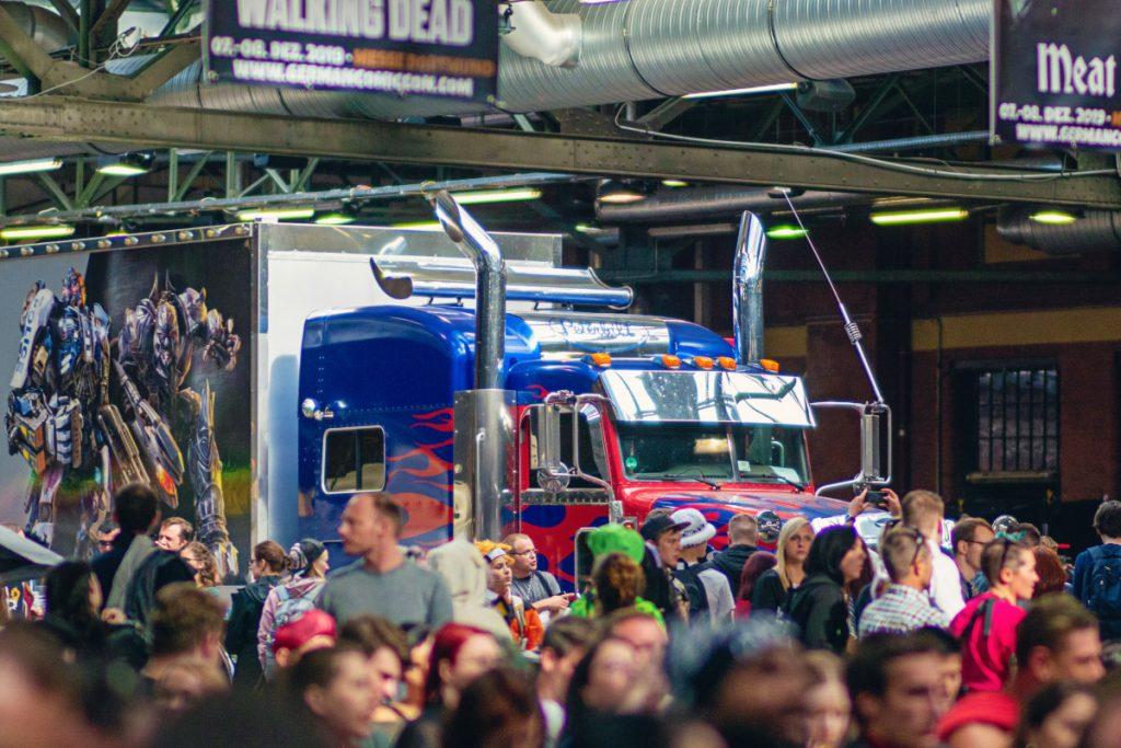 Transformers Truck - Comic Con Berlin 2019